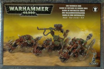 Games Workshop Warhammer 40000 40K Ork Warbiker Mob 50-07